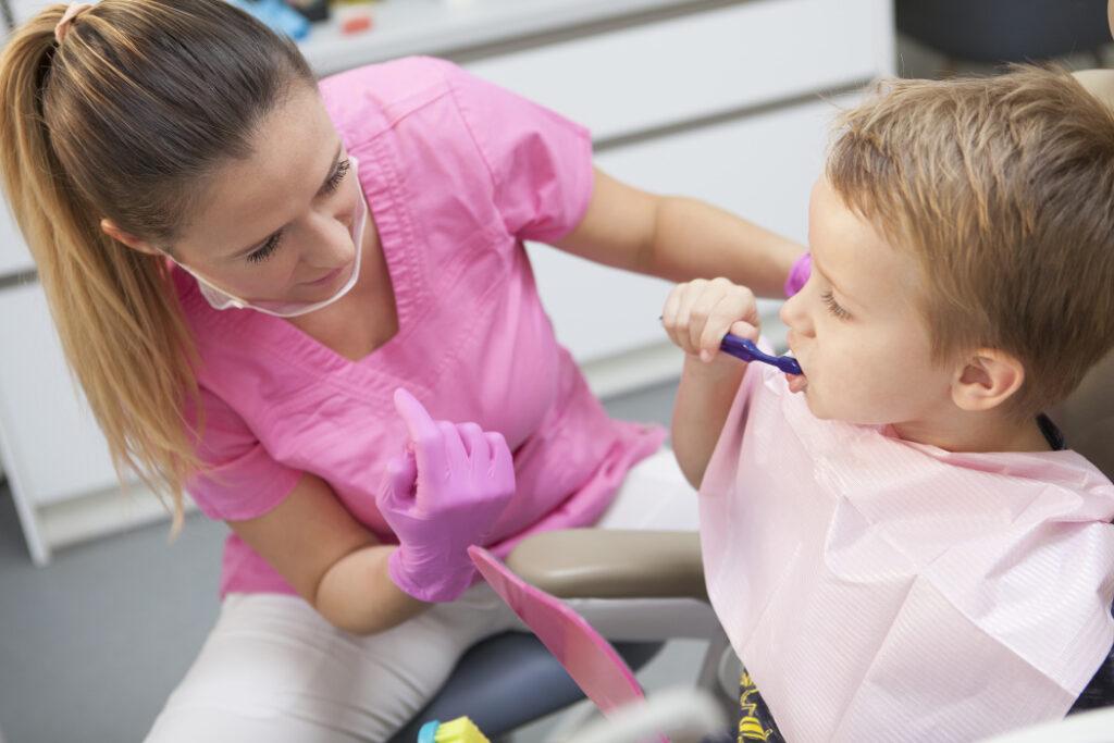 dentální hygiena pro děti praha